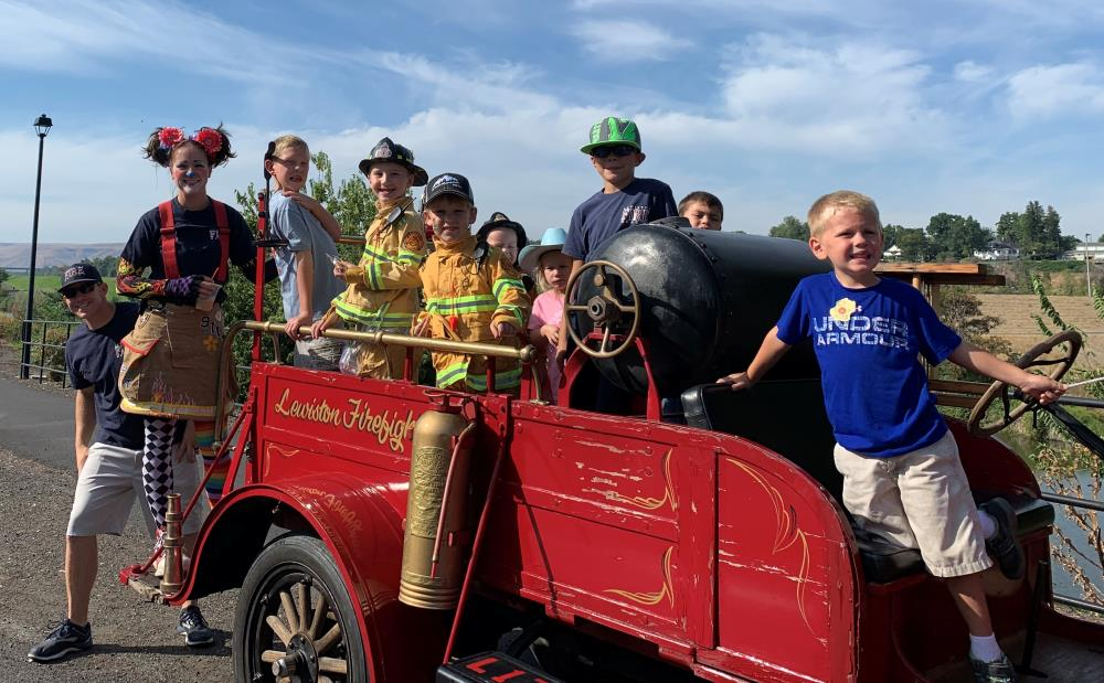 Roundup Parade with Local 1773s Model T