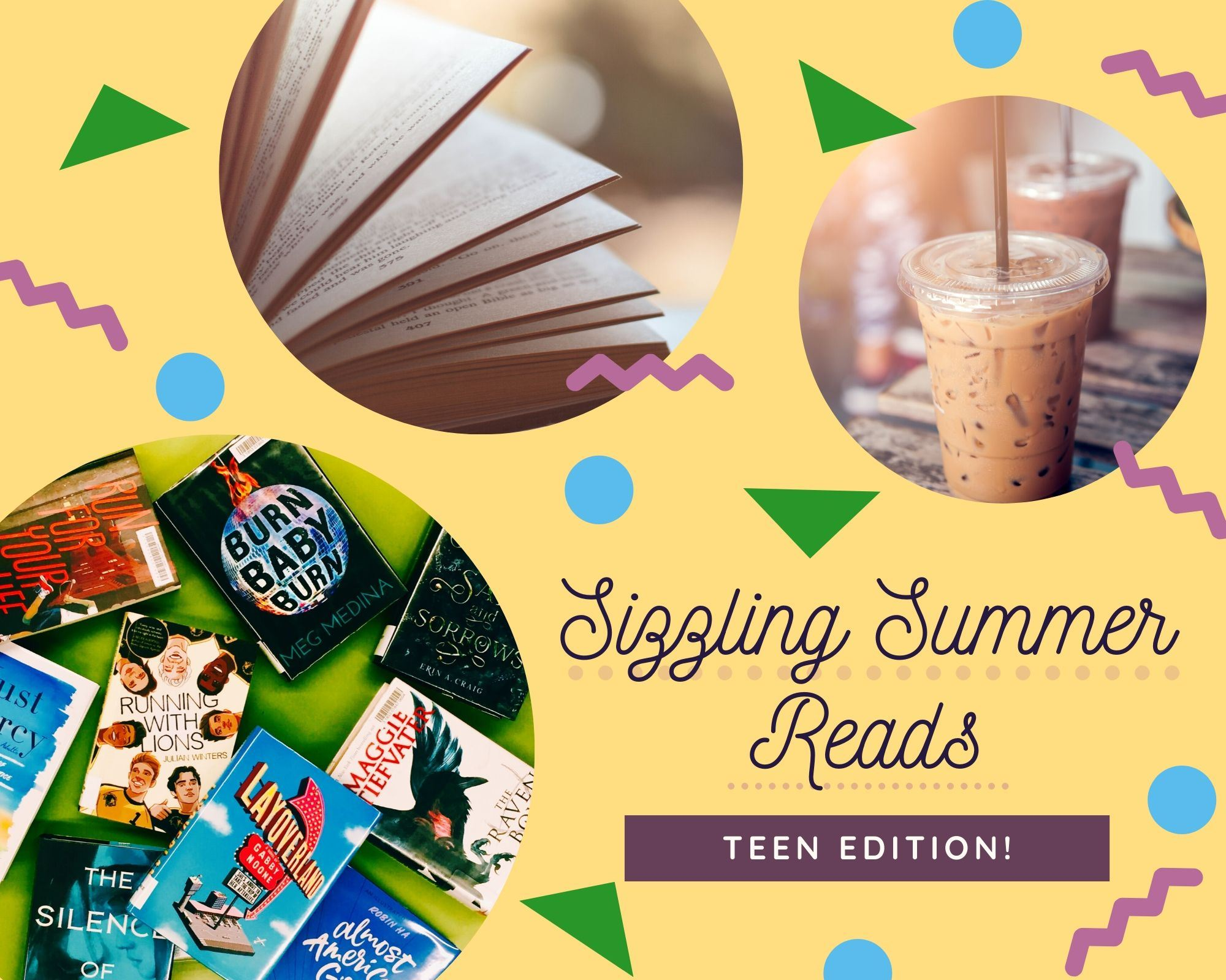Sizzling Summer Reads: Teen Edition!