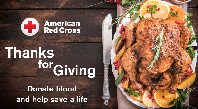 Blood Drive - Thanks for Giving by the American Red Cross