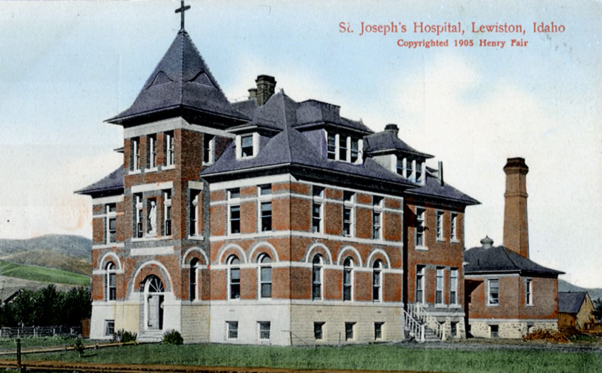 Photo of St. Joseph's Hospital from 1905